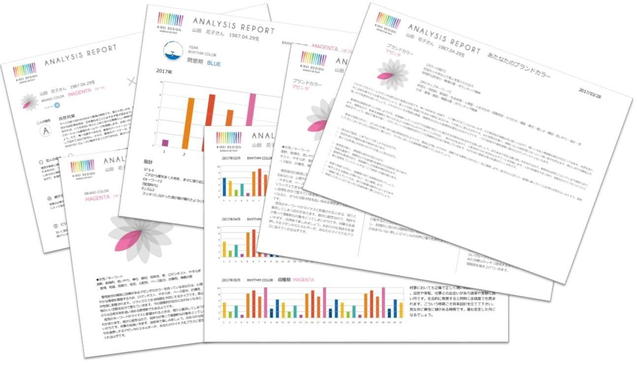 キレイデザイン学診断シートサンプル